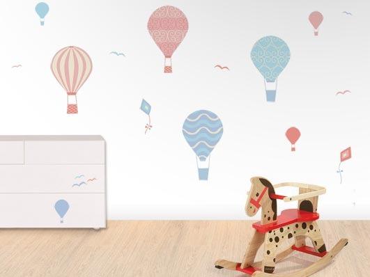 Manualidades para habitacion de ninas for Vinilo habitacion bebe nina