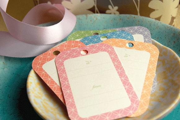 Etiquetas de regalo imprimibles en Fiestascoquetas.com