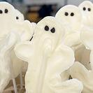 La receta más fácil de Halloween - Piruletas de Fantasmas de Chocolate