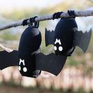 Murciélagos de Halloween con calcetines viejos