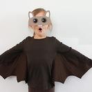 Cómo hacer un disfraz casero de murciélago para Halloween