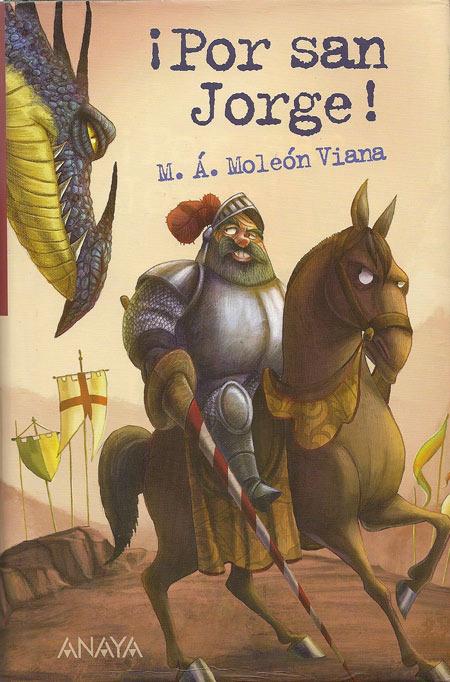 ¡Por San Jorge! Lectura para niños
