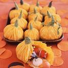 Bolsitas en forma de calabaza para Halloween