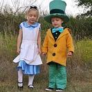 Disfraces caseros de Alicia y el Sombrero Loco