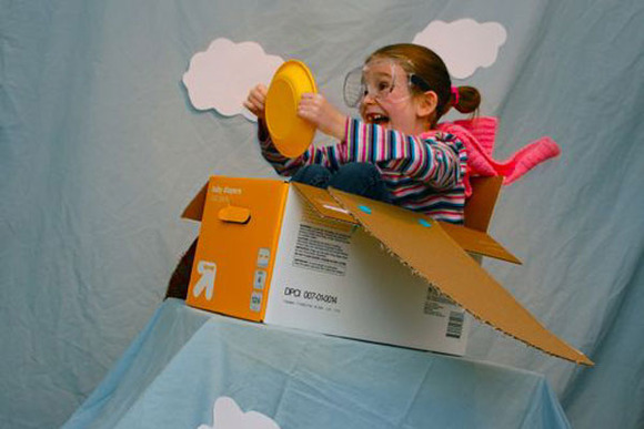 Avioneta creada con Makedo