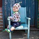 Inch Blue... Zapatitos de piel muy cómodos para bebés