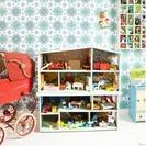 Reciclar y decorar con los papeles pintados de Retrovilla DK