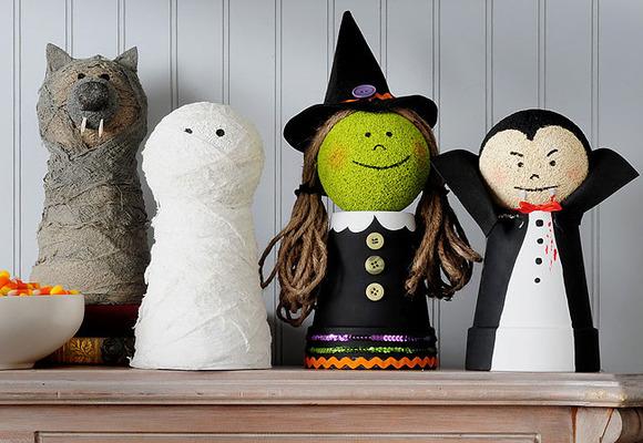 Halloween plastica