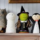 Decora Halloween con estos amiguitos