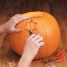 Cómo vaciar y decorar una calabaza de Halloween