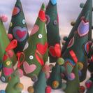 Decoraciones de Navidad con fieltro en MuzMuz