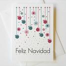 Postales para imprimir de Feliz Navidad con Decoración Navideña