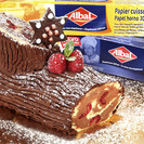 Tronco de Navidad con butter cream de chocolate