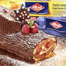Tronco de Navidad con butter cream de chocolate