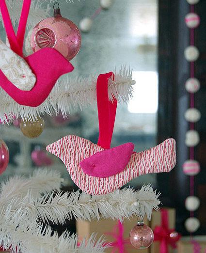 P jaros para adornar el rbol hechos en casa especial - Adornar casa para navidad ...