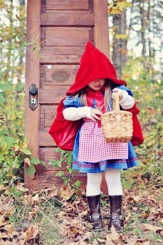 Disfraz casero de Caperucita Roja