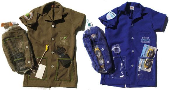 Disfraces de explorador, de biólogo o de veterinario
