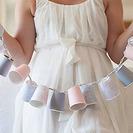 Guirnaldas con luz para decorar fiestas infantiles