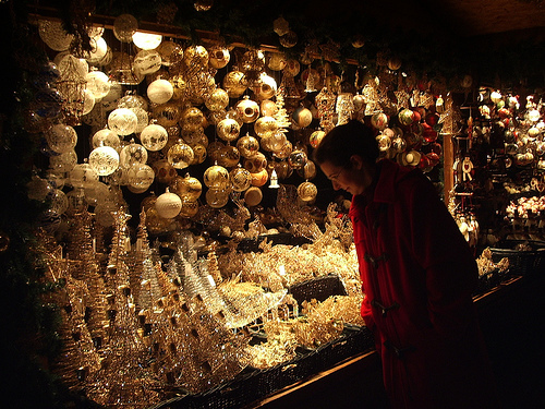 Mercadillos navideños en Zaragoza