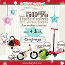 Consigue hasta un 50% de descuento en juguetes en la tienda online de Baby Deli