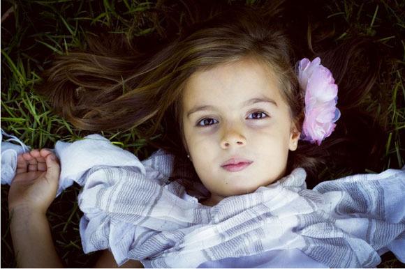 Fotografías artísticas para niños