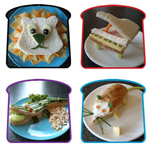 Funky Lunch; los sándwiches más divertidos y originales para hacer en casa.