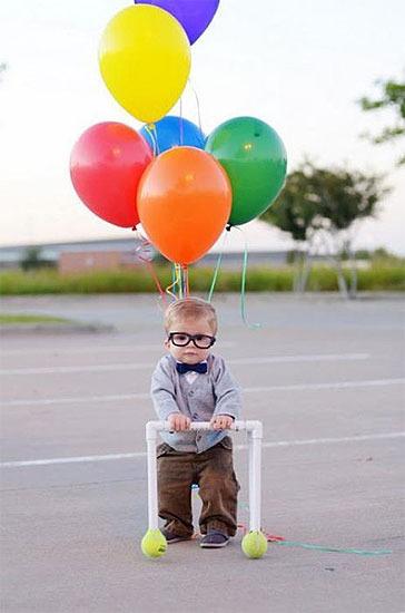 Disfraz casero del abuelo de Up. Imagen: disneybound.tumblr.com