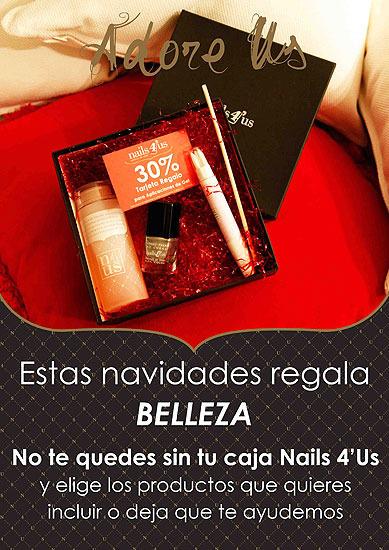 Estas Navidades regala Belleza con Nails 4'Us