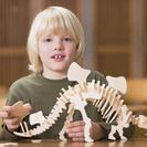Exposición de dinosaurios para niños en Cosmo Caixa Barcelona