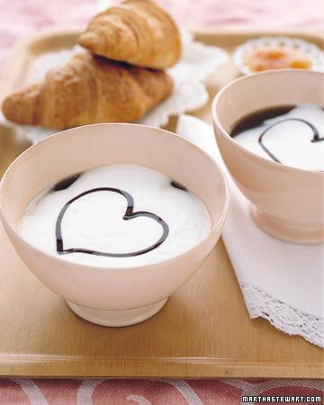 Ideas de desayuno de San Valentine. Fuente imagen: www.marthastewart.com