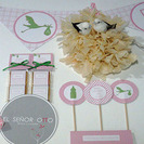 Recordatorios y decoracion para Bautizos y Baby Shower del Sr. Otto