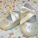 Zapatos para bautizos personalizados con el nombre del bebé