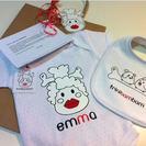 Ropita de bebe personalizada en Trinibambam