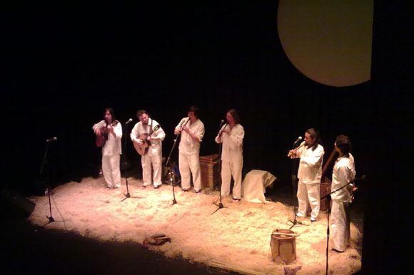 Concierto infantil en CaixaForum, Madrid
