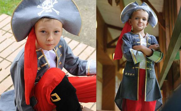 los mejores disfraces de piratas para ninos