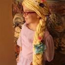 Cómo hacer una peluca de Rapunzel