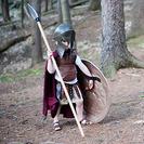 El mejor disfraz casero de soldado griego para niños