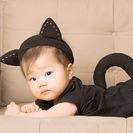 Disfraz casero de gato para bebés