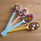 Cucharas de chocolate para hacer con niños