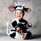 Disfraces para bebés del diseñador Tom Arma