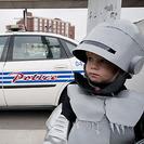 Disfraz casero de Robocop para niños