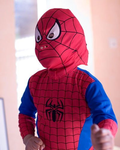 Disfraz de Spiderman para nios