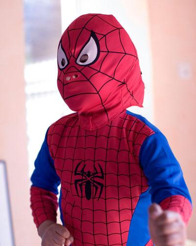 Disfraz de Spiderman para niños