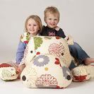 Los asientos y puffs más originales para dormitorios infantiles Beasty Bags. UK