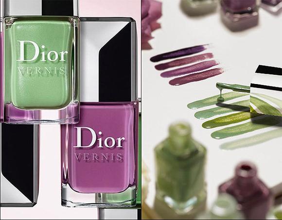 Maquillaje primavera-verano 2012 de Dior. Lacas de uñas en tono pastel