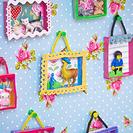 Mini obras de arte para habitaciones infantiles
