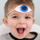 Manualidades de fieltro. ¡El niños de los 3 ojos!
