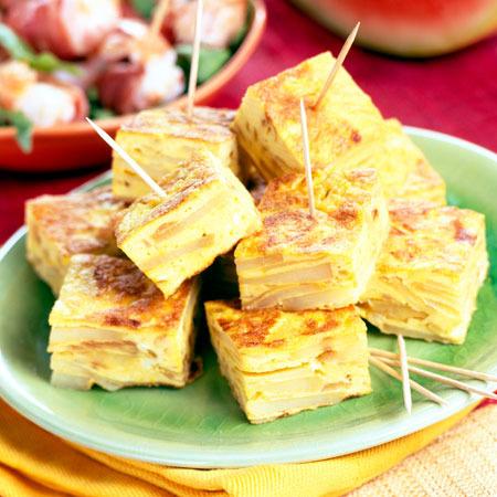 Tortilla dulce de Carnaval