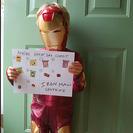 Disfraz para niños de Iron Man