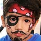 Maquillaje de pirata para niños